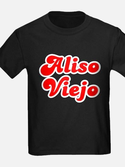 Retro Aliso Viejo (Red) T