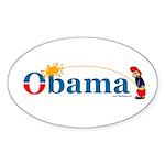 Whiz Kid Oval Sticker (10 pk)