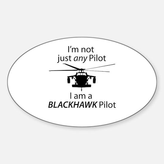 Blackhawk Oval Decal