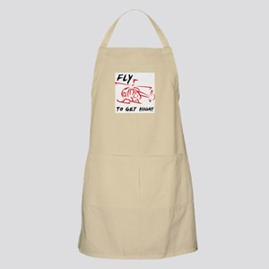 Fly to get high BBQ Apron