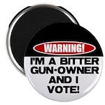 """Bitter Gun Owner 2.25"""" Magnet (10 pack)"""