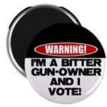 """Bitter Gun Owner 2.25"""" Magnet (100 pack)"""
