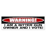 Bitter Gun Owner Bumper Sticker (50 pk)