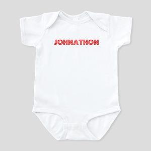 Retro Johnathon (Red) Infant Bodysuit