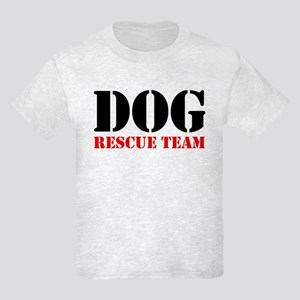 Dog Rescue Team Kids Light T-Shirt