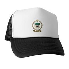 BERTRAND Family Crest Trucker Hat