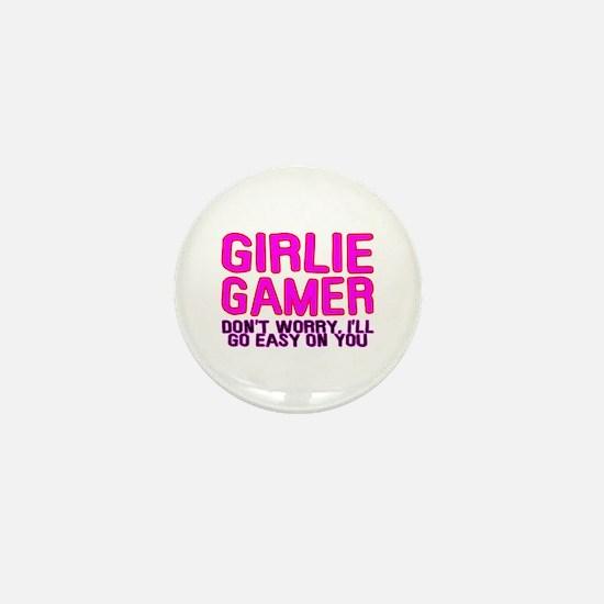 Girlie Gamer Mini Button