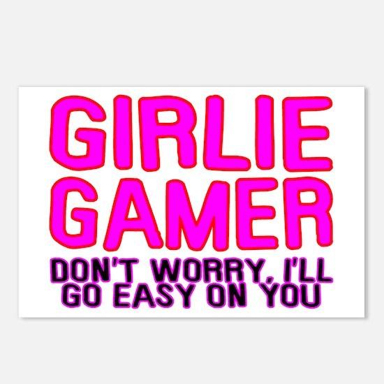 Girlie Gamer Postcards (Package of 8)