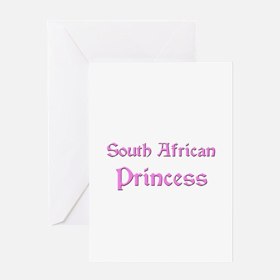 South African Princess Greeting Card