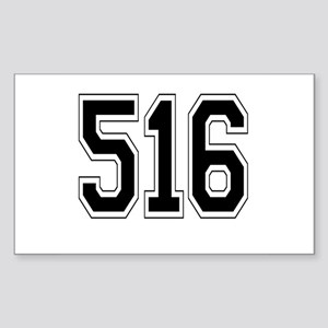 516 Rectangle Sticker