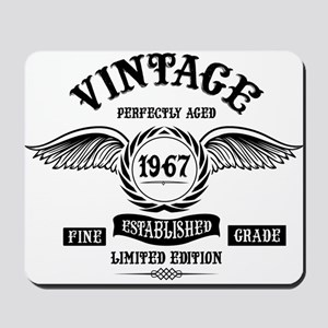 Vintage Perfectly Aged 1967 Mousepad
