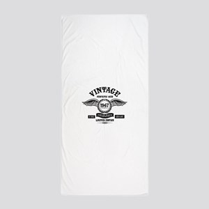 Vintage Perfectly Aged 1967 Beach Towel