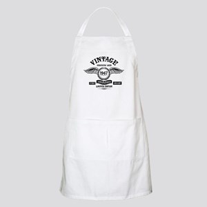 Vintage Perfectly Aged 1967 Light Apron