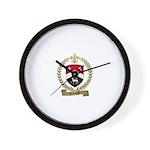 ARSENAULT Family Crest Wall Clock