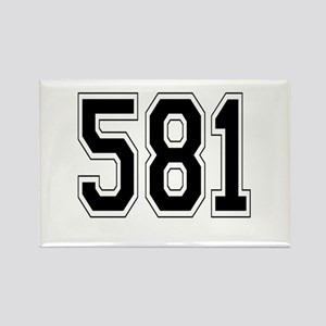 581 Rectangle Magnet