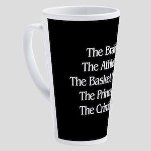 Shermer Names 17 oz Latte Mug