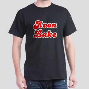Retro Avon Lake (Red) Dark T-Shirt