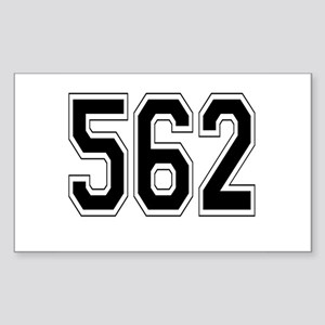 562 Rectangle Sticker