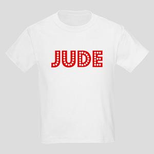 Retro Jude (Red) Kids Light T-Shirt