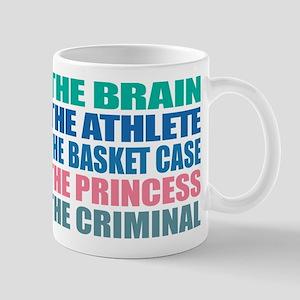 Shermer Detention Names 11 oz Ceramic Mug