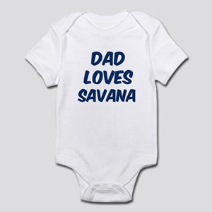 Dad loves Savana Infant Bodysuit