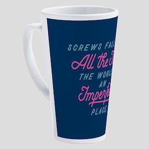 Imperfect Place 17 oz Latte Mug