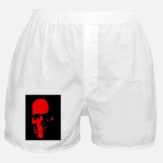 Red Skull Boxer Shorts