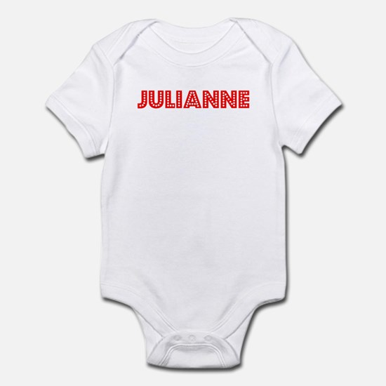 Retro Julianne (Red) Infant Bodysuit