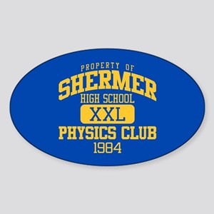 Shermer Physics Club Sticker (Oval)