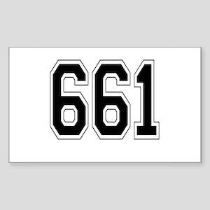 661 Rectangle Sticker