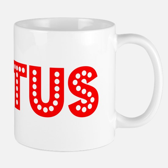 Retro Justus (Red) Mug
