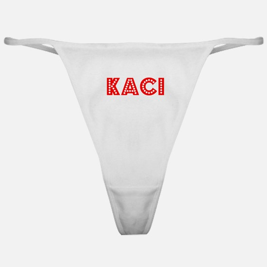 Retro Kaci (Red) Classic Thong