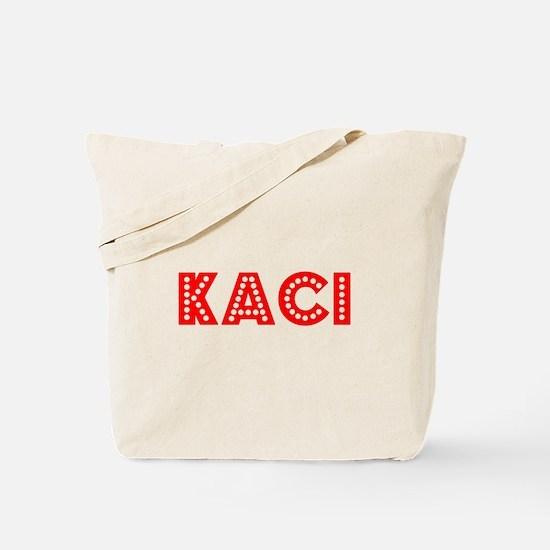 Retro Kaci (Red) Tote Bag