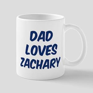 Dad loves Zachary Mug