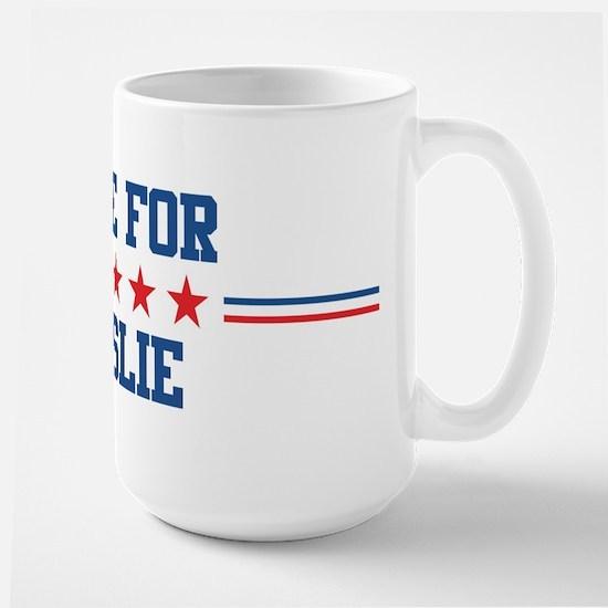 Vote for LESLIE Mugs
