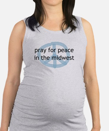 Peace in the Midwes Tank Top