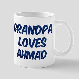 Grandpa loves Ahmad Mug