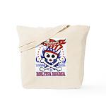 Proud Militia Mama Tote Bag