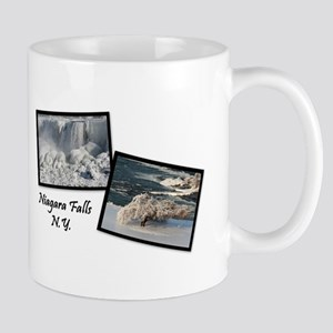 Winter Niagara Falls Mug