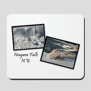 Winter Niagara Falls Mousepad