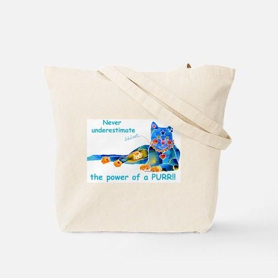 Nine Lives Kitty Tote Bag