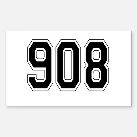 908 Rectangle Decal