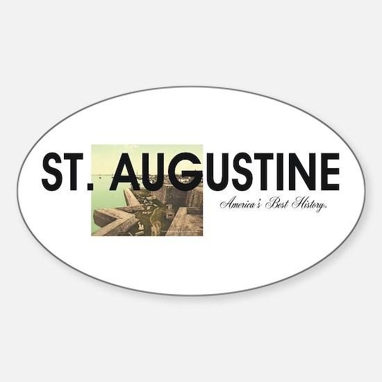 St. Augustine Americasbesthistory.c Sticker (Oval)