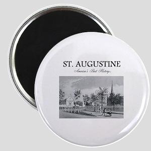 St. Augustine Americasbesthistory.com Magnet
