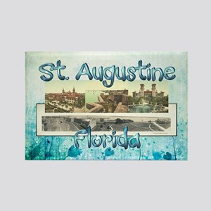 St. Augustine Americasbesthistory Rectangle Magnet