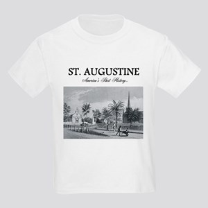 St. Augustine Americasbesthisto Kids Light T-Shirt