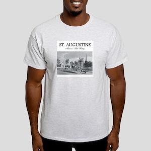 St. Augustine Americasbesthistory.co Light T-Shirt