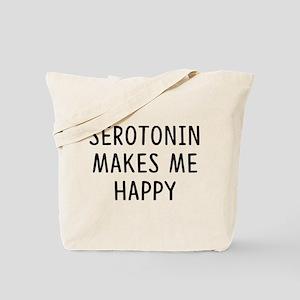 Serotonin Happy Tote Bag