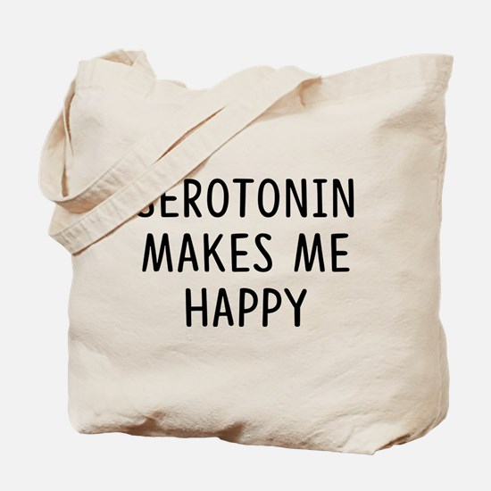 Serotonin Happy Tote Bag