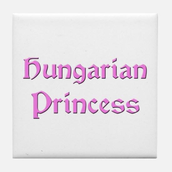 Hungarian Princess Tile Coaster